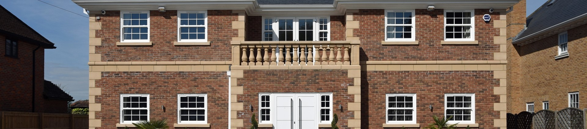 Luxury home cast stone development