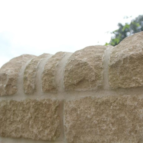 Cotswold village walling stones