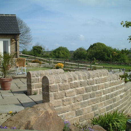 Wynbrook home case study with walling stones