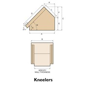 Brick kneelers diagram