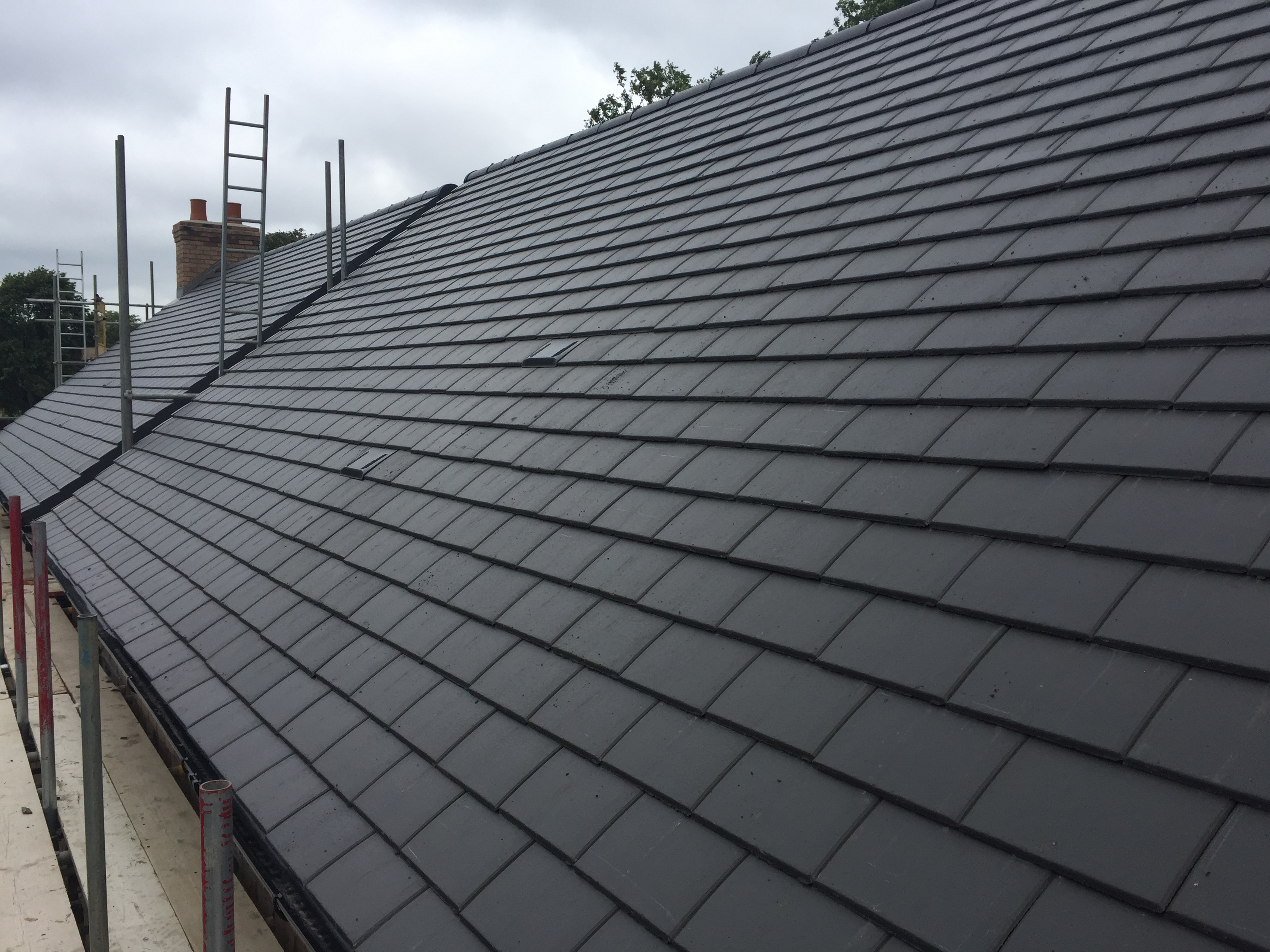 Minislate Concrete Roof Tiles Products Forticrete