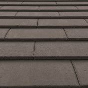 Material colour and finish sample-slate grey roof tiles