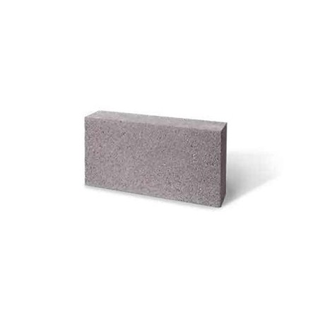 shot blasted steel grey concrete block