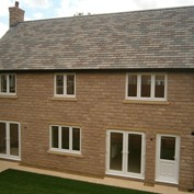 William Davis Homes case study - using Forticrete Cast Stone and Forticrete Hardrow Overture roof riles
