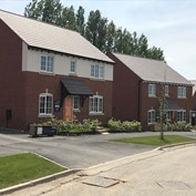 Bellway Homes case study - using Cast Stone products and Forticrete SL8 roof tiles