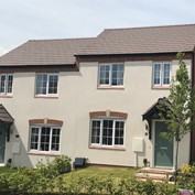 Ashtree Gardens case study - using forticrete Cast Stone and SL8 roof tiles