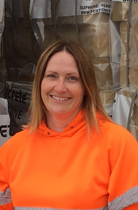 Sharon Betts, factory manager