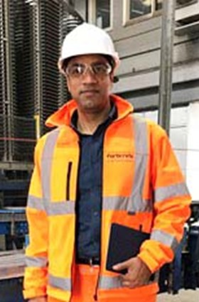 Asif Khalil, health & safety manager