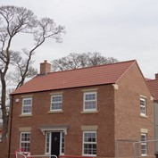 Redrow Homes in Green Hammerton using PAN8 roof tiles
